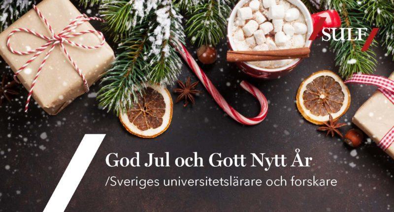 Bild på julkort från SULF.